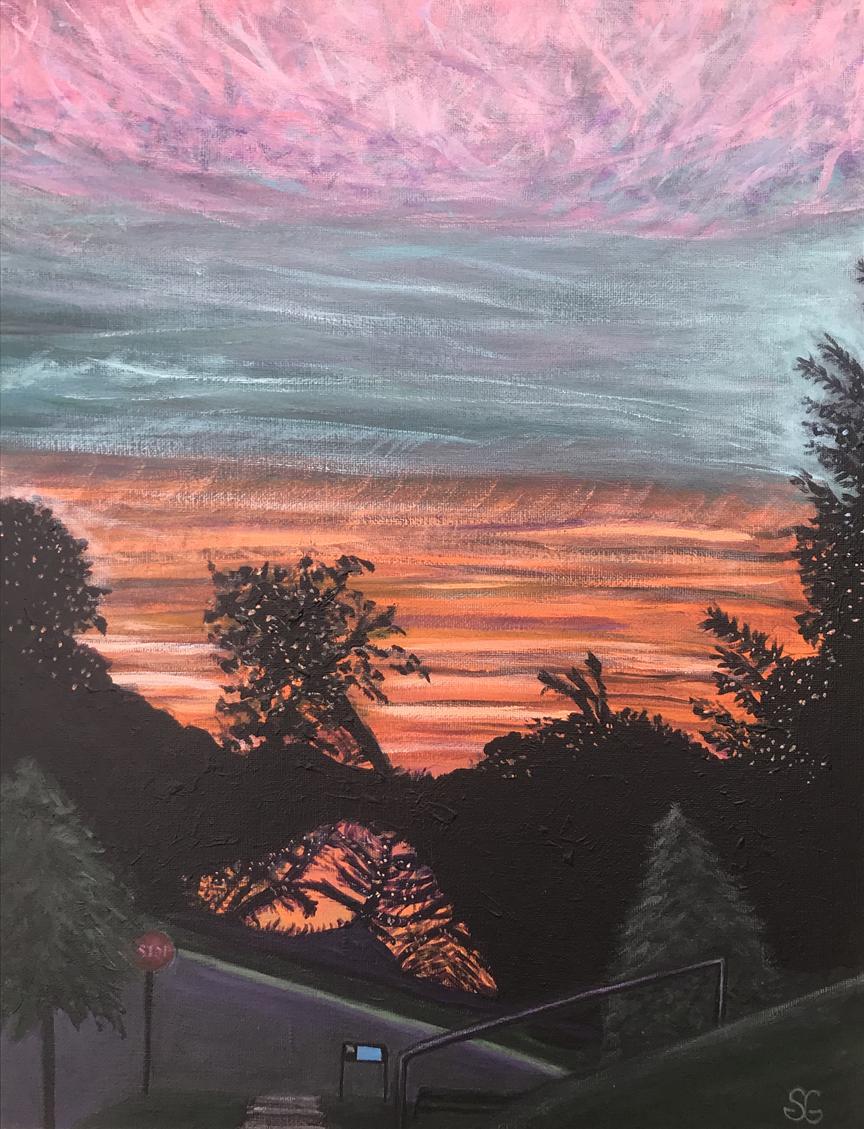 Sunset: the Rappahannock, S. Gaglio