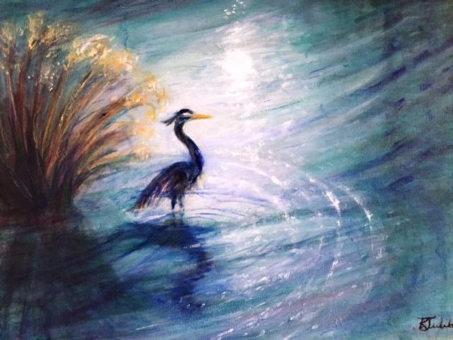 Heron Watch, Karen Julihn
