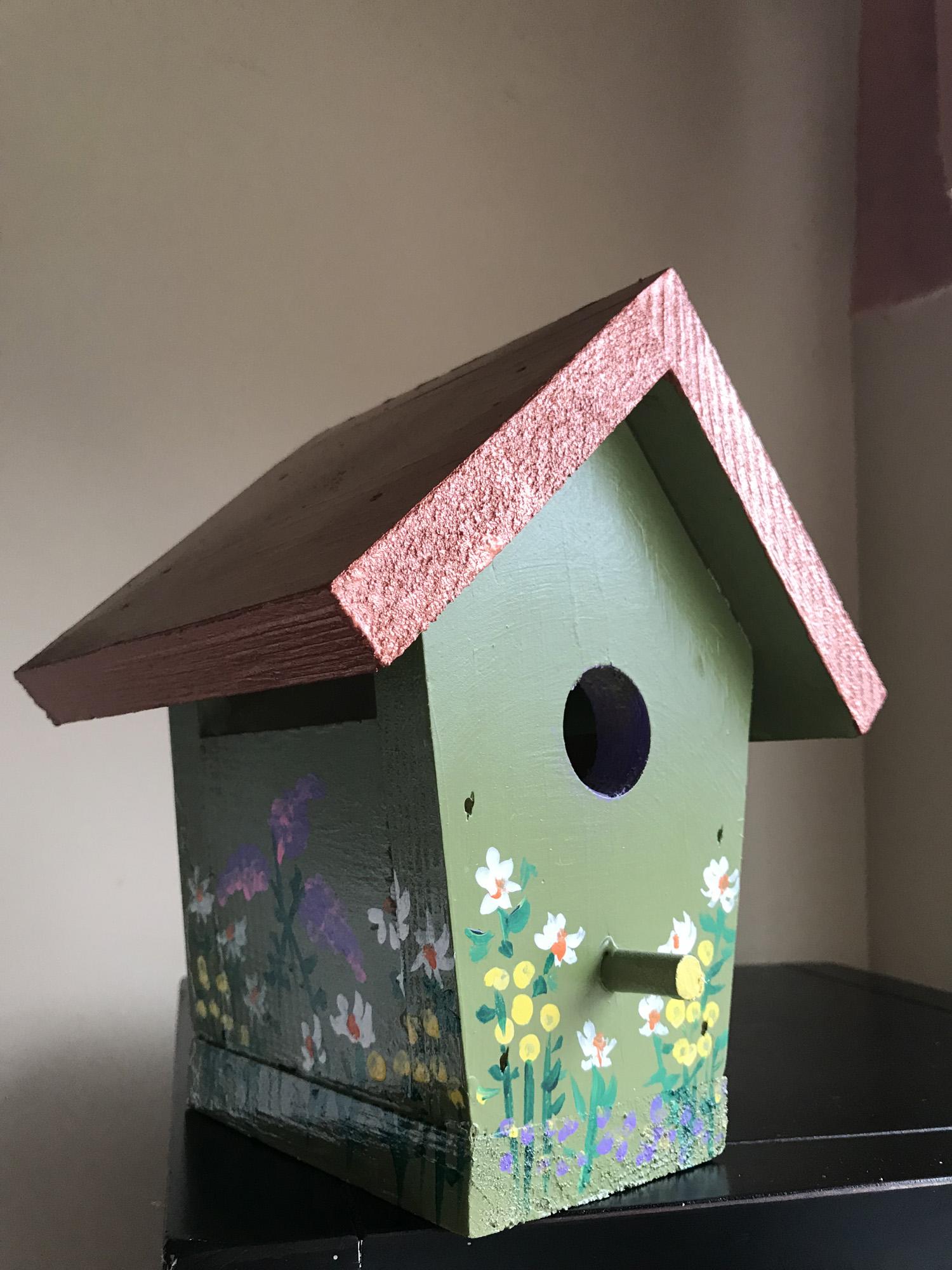 Birdhouse Green, Karen Julihn
