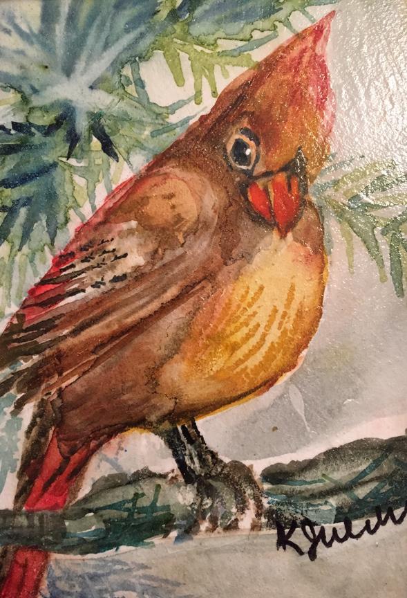 """""""Mama Cardinal,""""-Karen Julihn"""