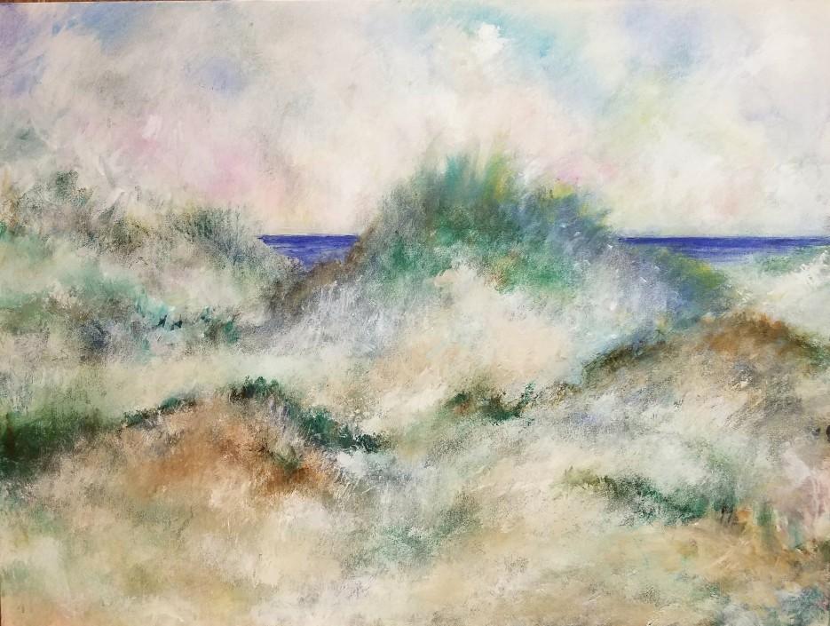 Through Grassy Dunes, Peggy Wickham