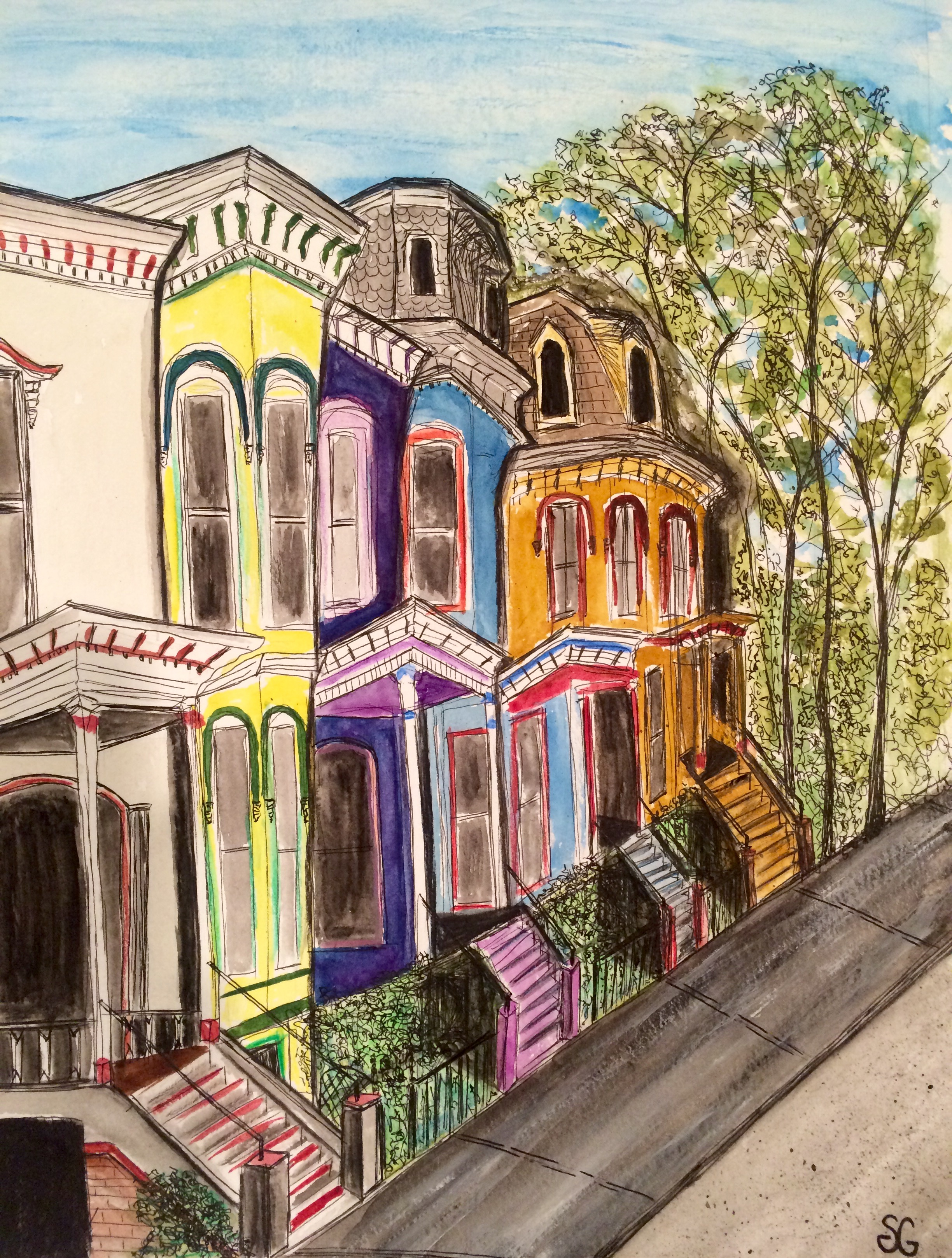 Row Houses, Stacy Gaglio