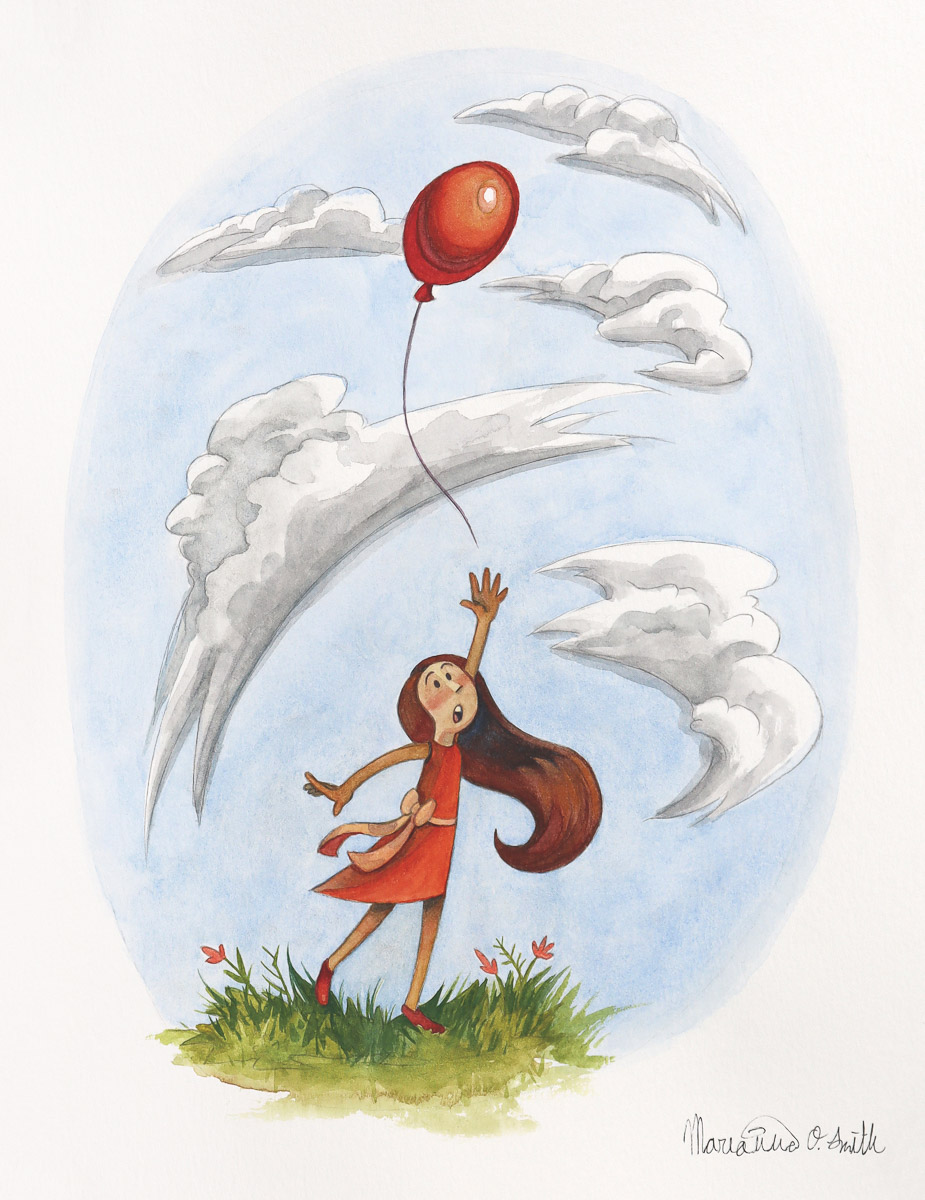 """Bye Bye Balloon"" by Marianna Smith"