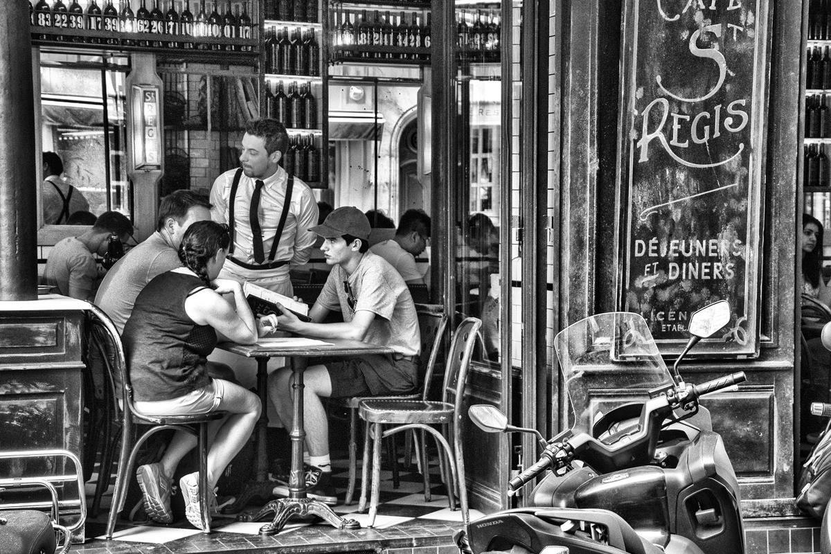 ParisBistro, NormaWoodward