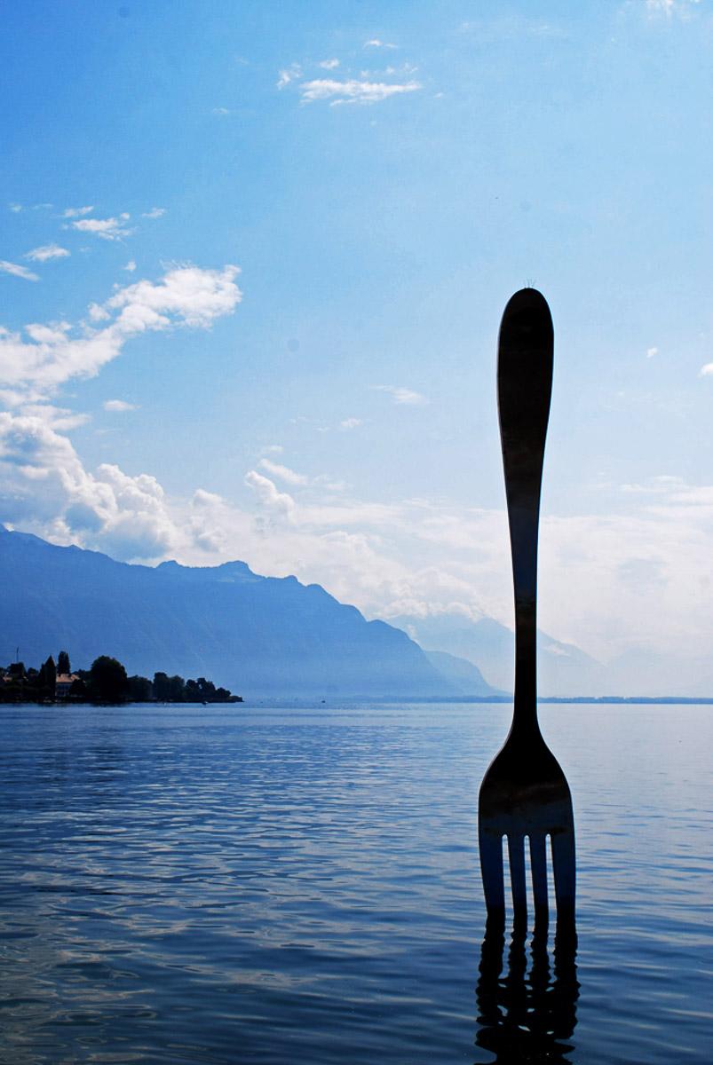 """Vevey Fork"" by Penny A Parrish."