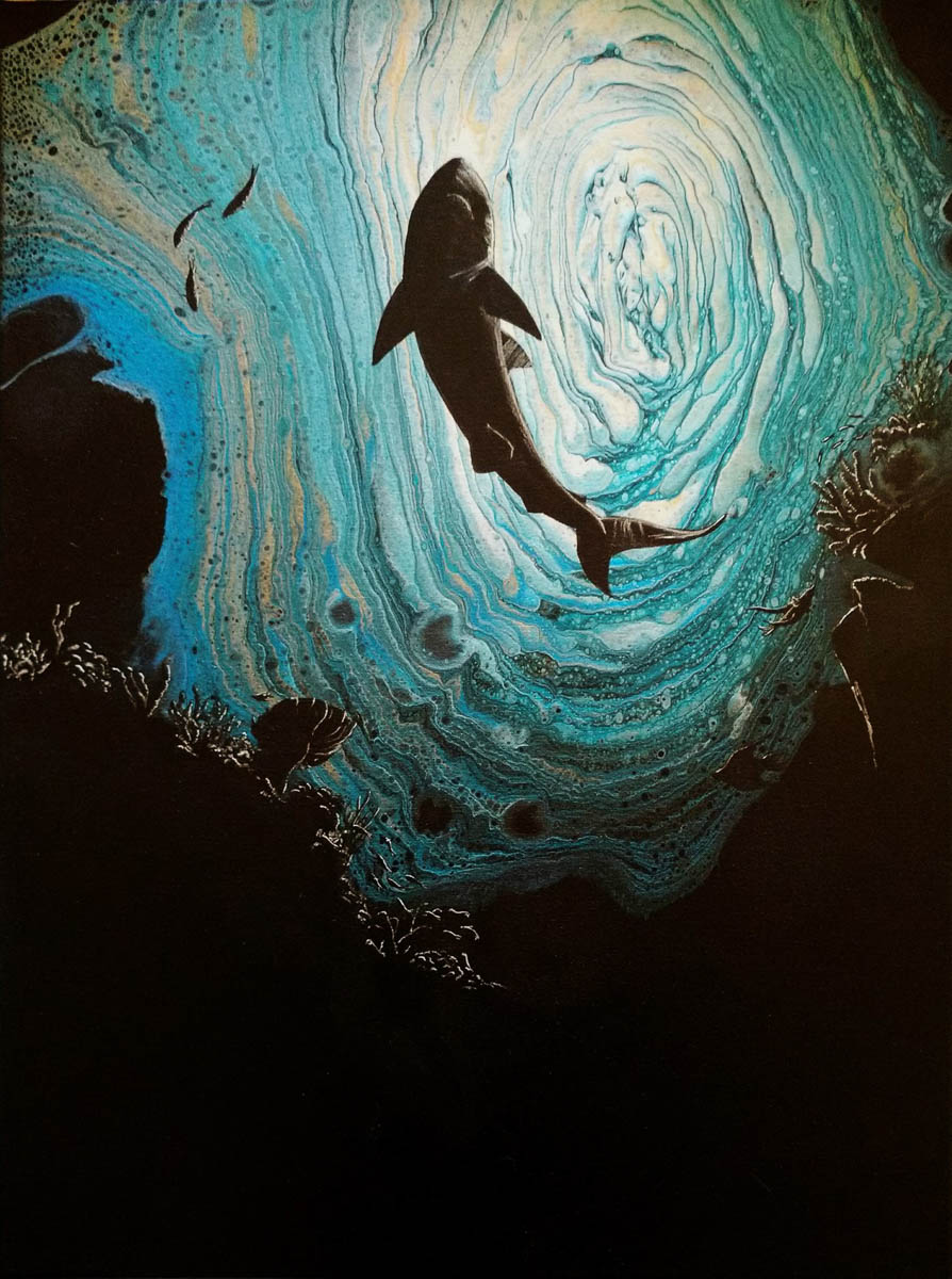 """Dark Depths"" by Hailey Light"