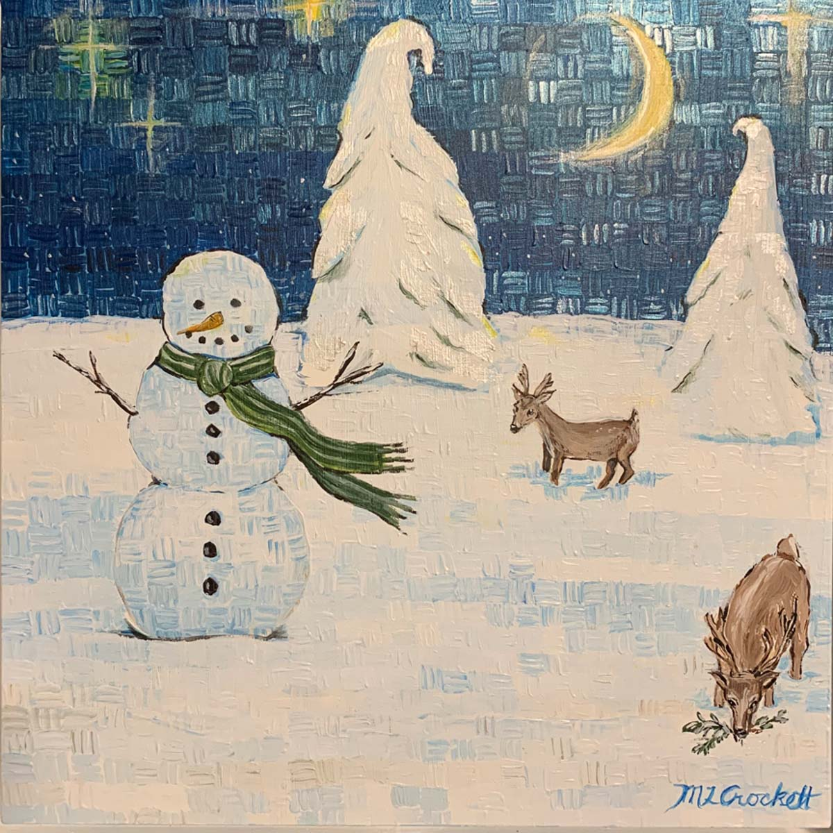 """Frosty's Silent Night"" by Megan Lee Crockett"