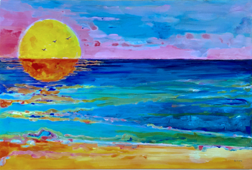 Sun on Water, Nancy Williams