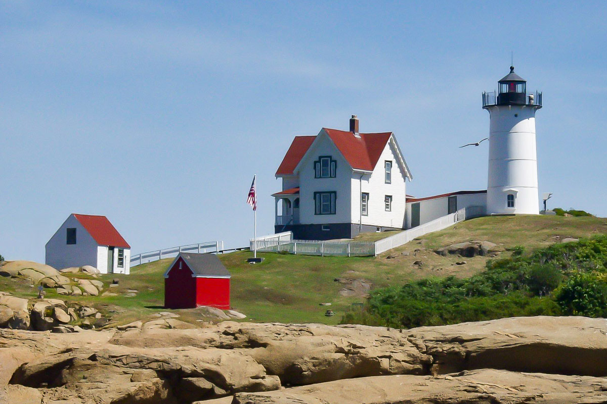 """Nubble Lighthouse"", by Buddy Lauer"