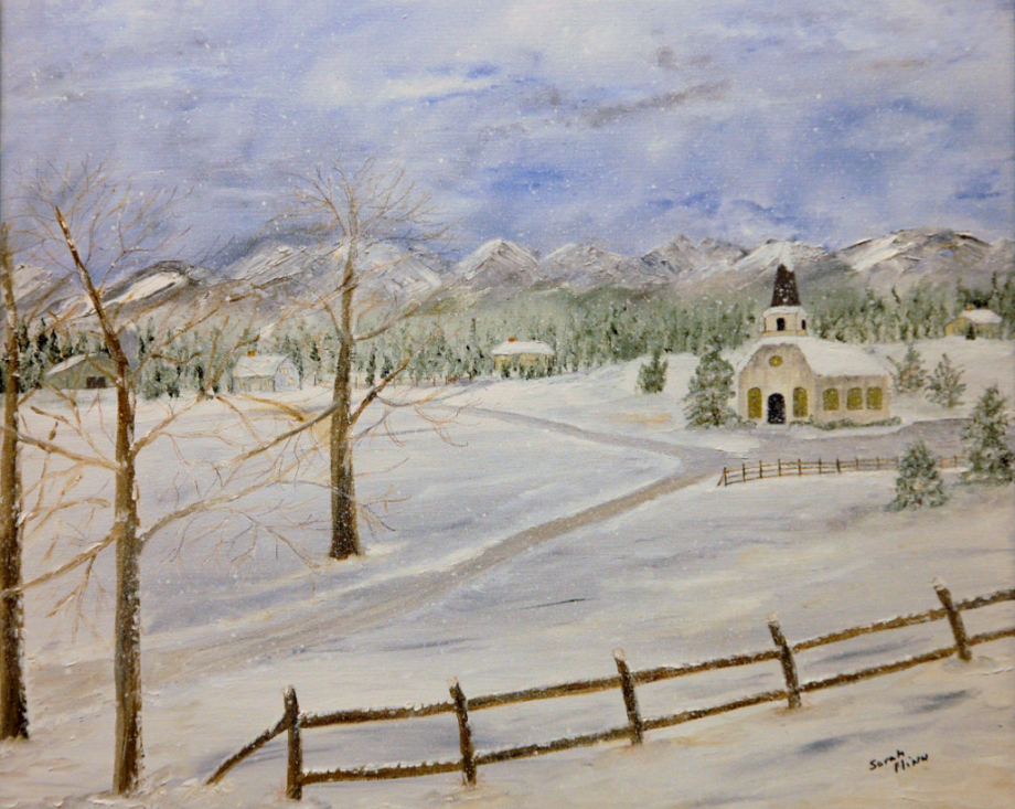 Church in Snow, Sarah Flinn