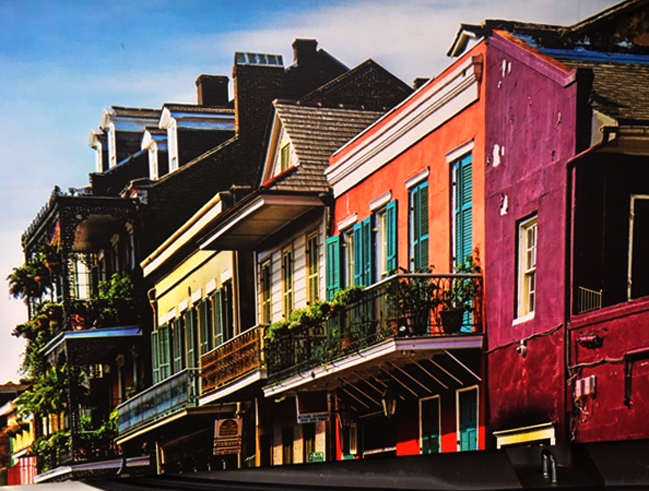 New Orleans Houses, Norma Woodward