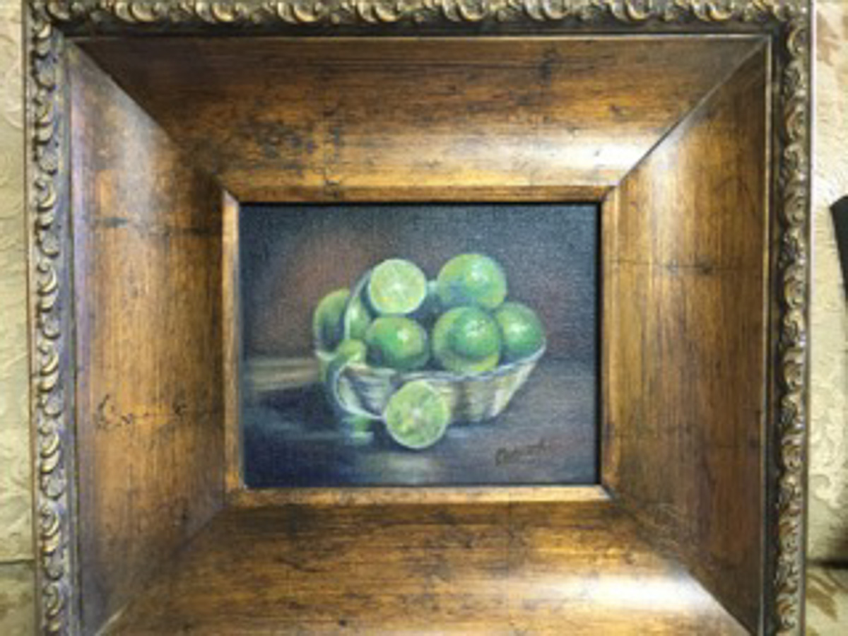 """Lime Basket"" by Denise Denecke"