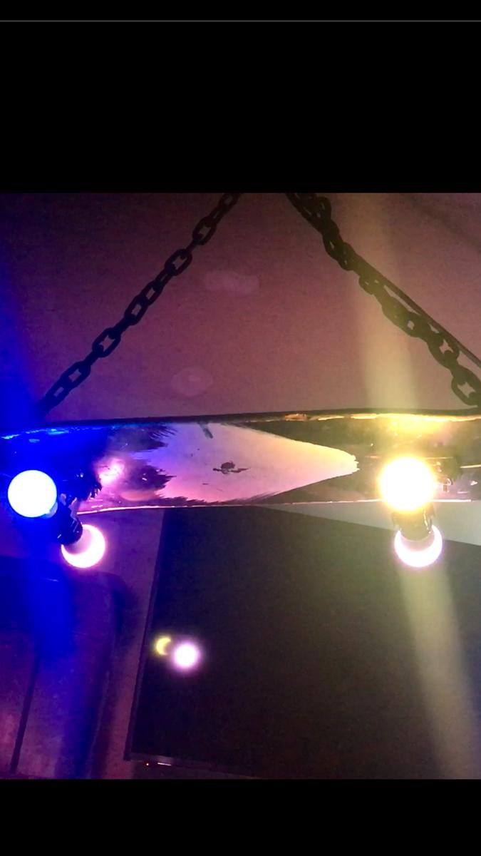 Skateboard Light by Pete Zinck