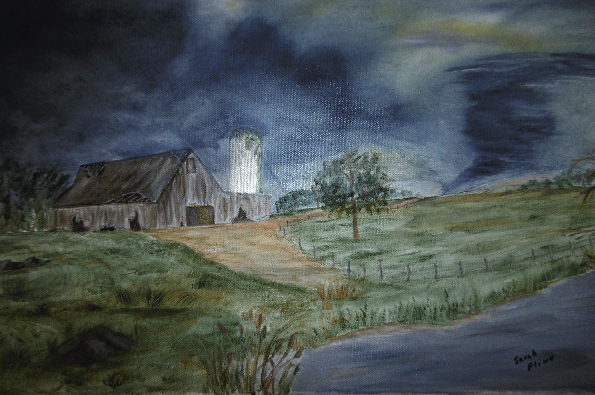 Spring Storm, Sarah Flinn