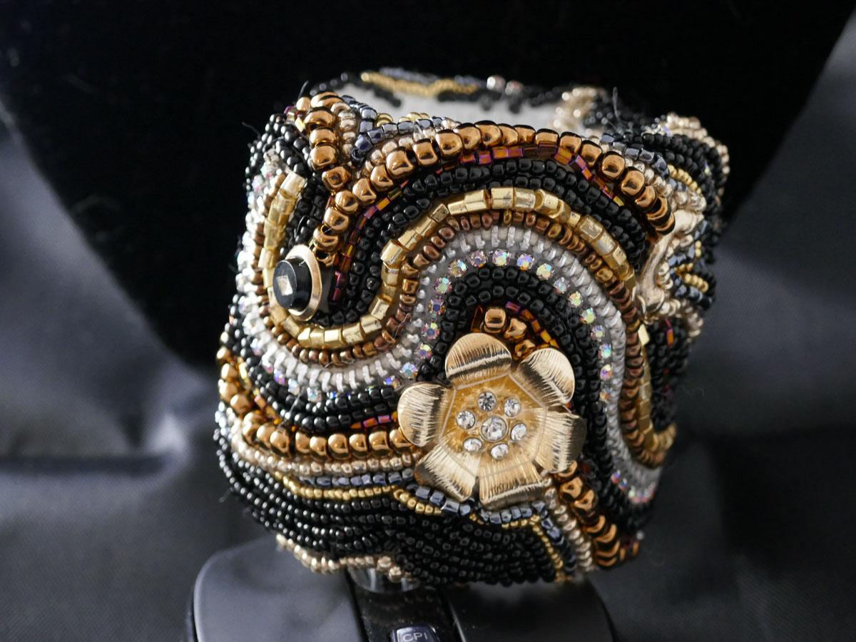 Cuff Bracelet by Liana Pivirotto