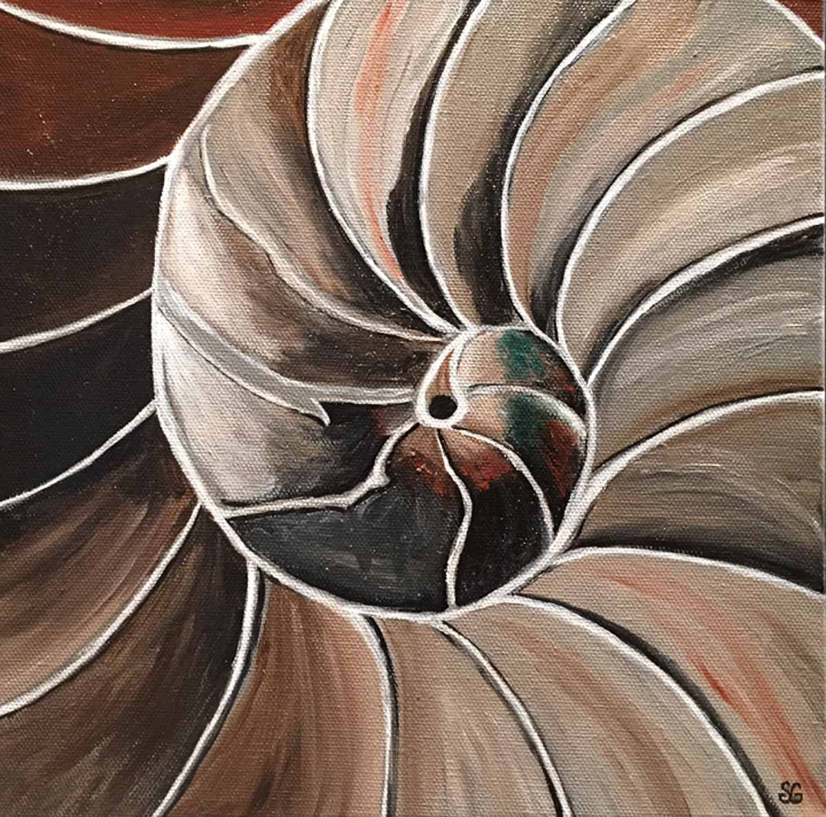 """SpiralShell"" by Stacy Gaglio"