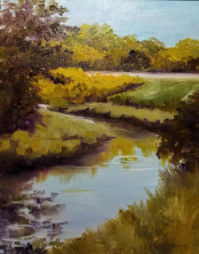 Wakes Mill Pond, K. Willingham