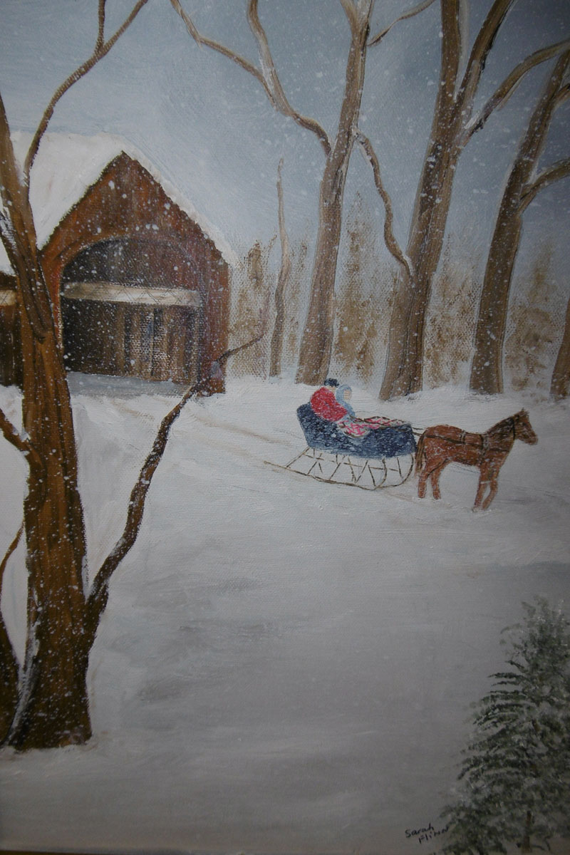 """Sleigh Ride"" by Sarah Flinn0-21."