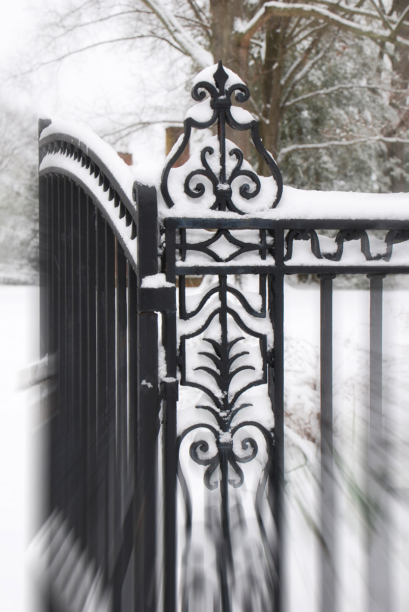 """""""Kenmore Swinging Gate"""" by Penny A Parrish"""