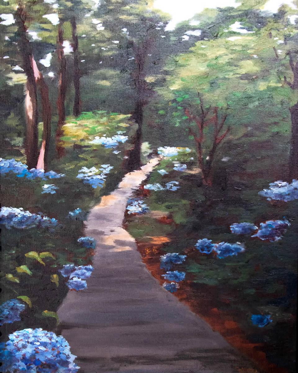 """Sunlit Path"" by Collette Caprara"