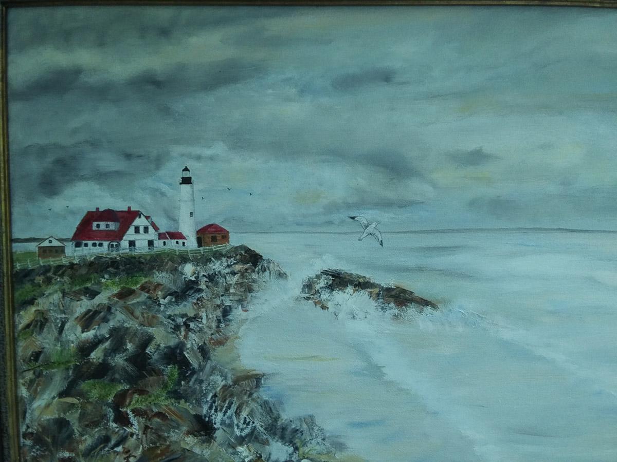 """""""Portland Head Lighthouse"""" by Sarah Flinn"""