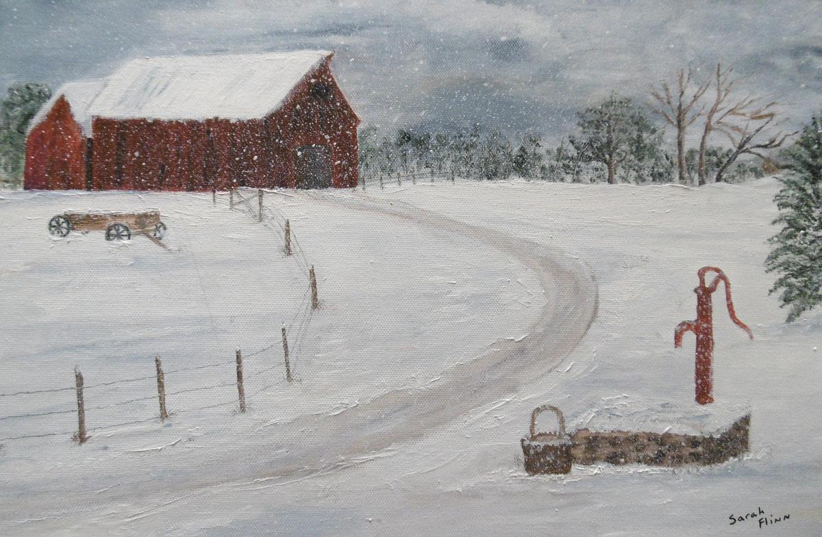 """Old Pump"" by Sarah Flinn"