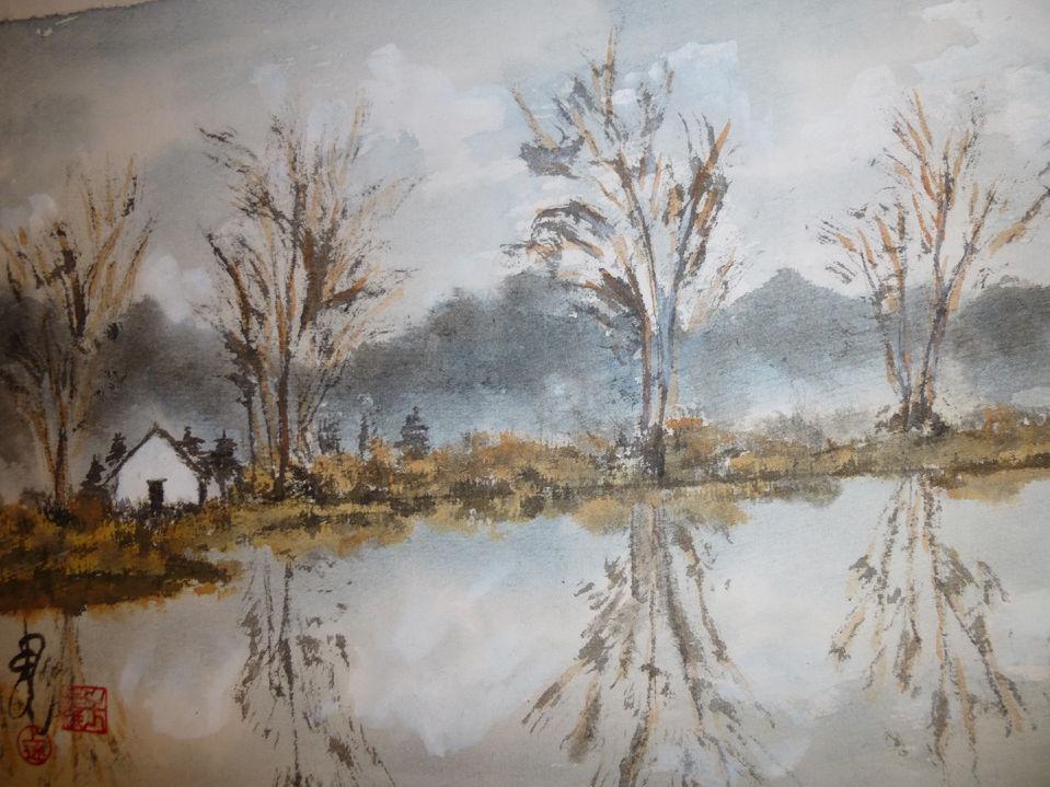 River Reflection, Carol Waite