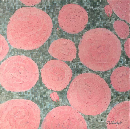 Reflective Pattern - Carnations