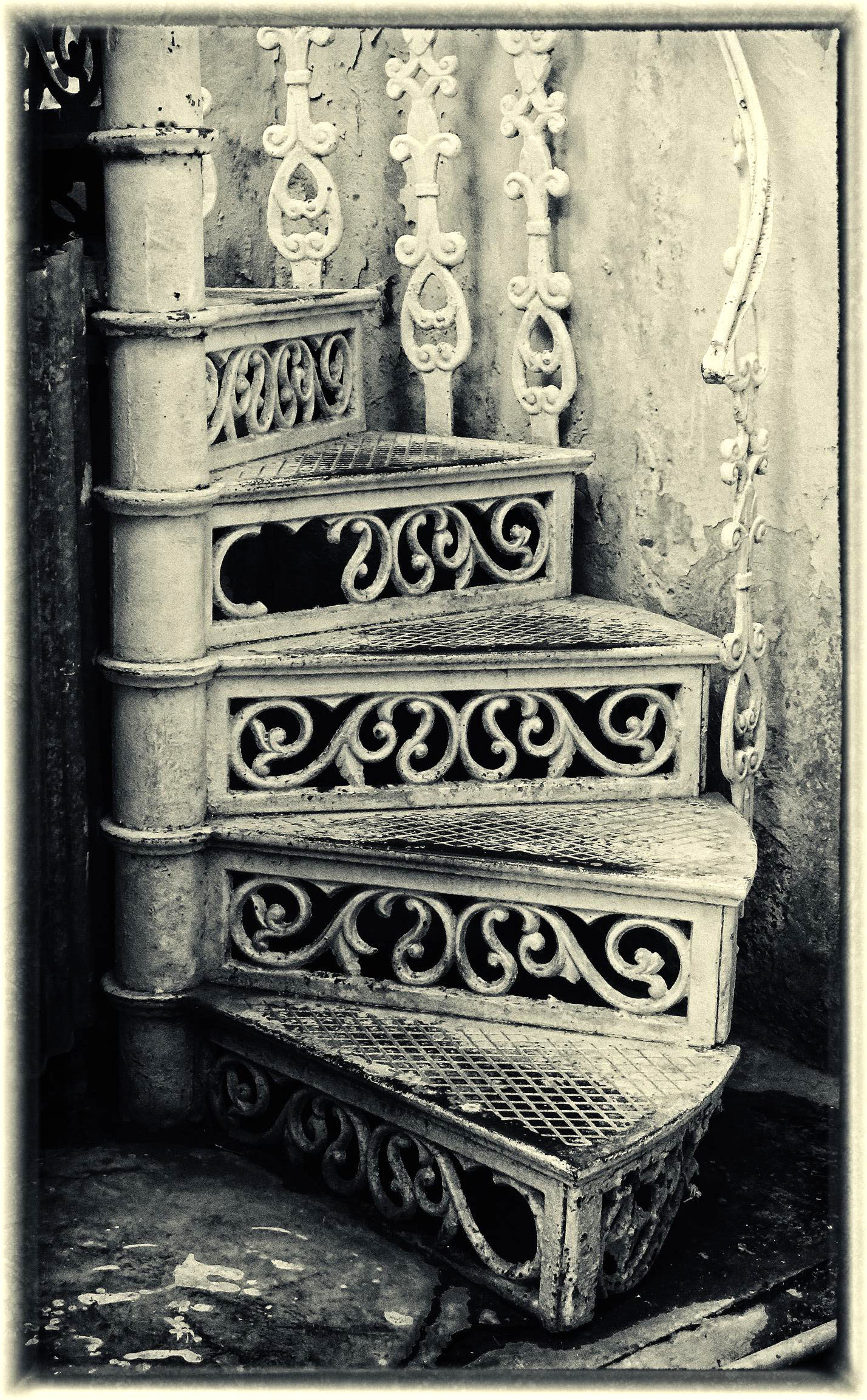 Penny Parish, Spiral Staircase