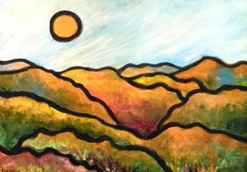 For Love of Orange, Peggy Wickham