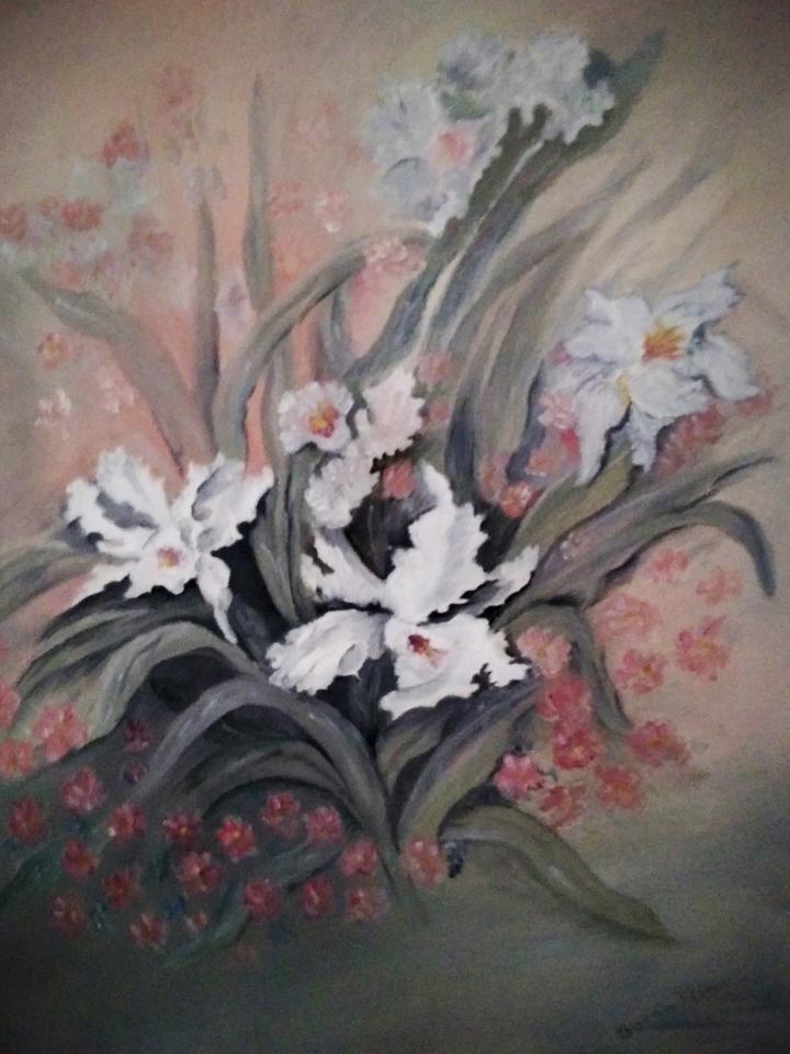 """""""Wild Orchids,"""" by Sarah Flinn."""