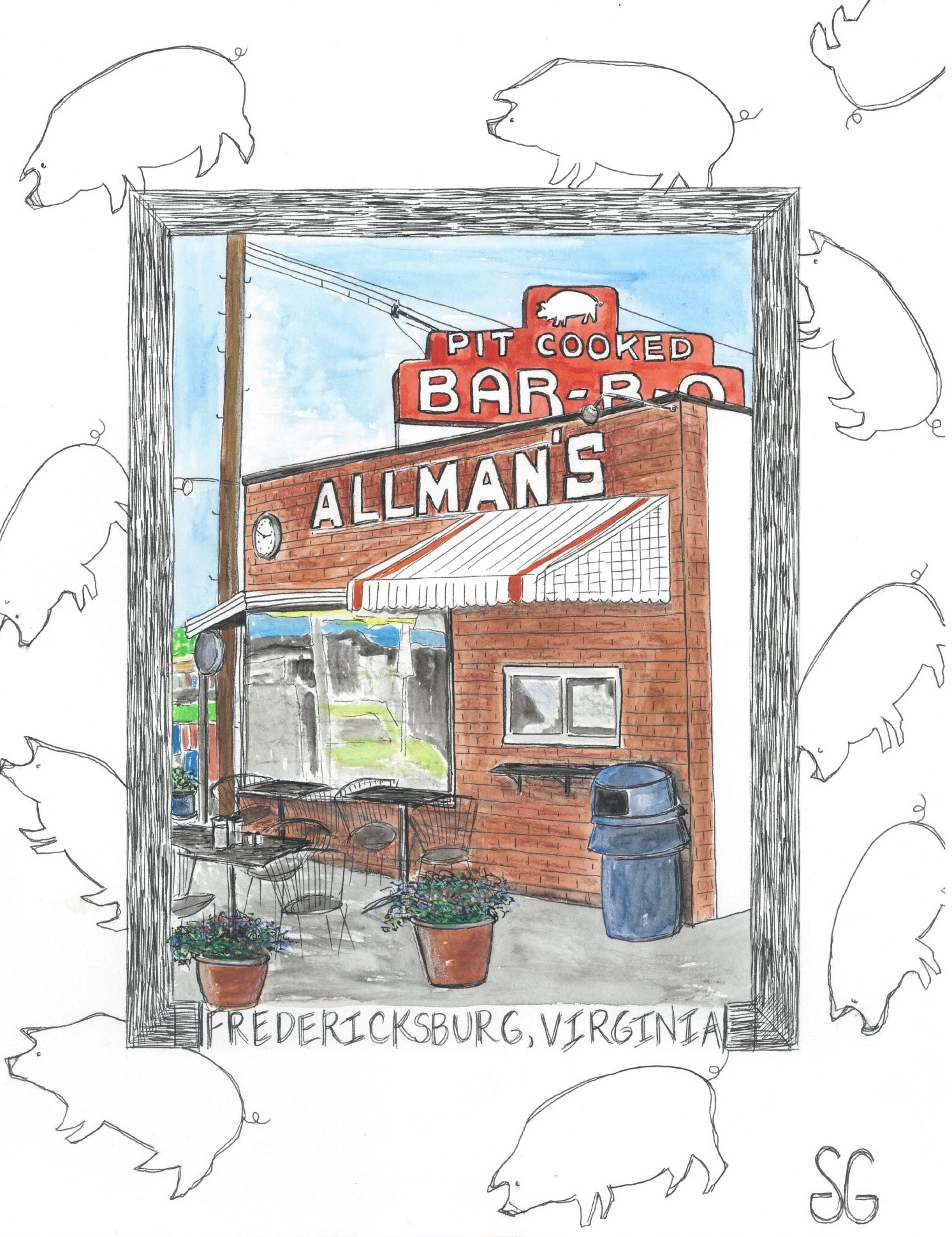 """Allman's,"" by Stacy Gaglio."
