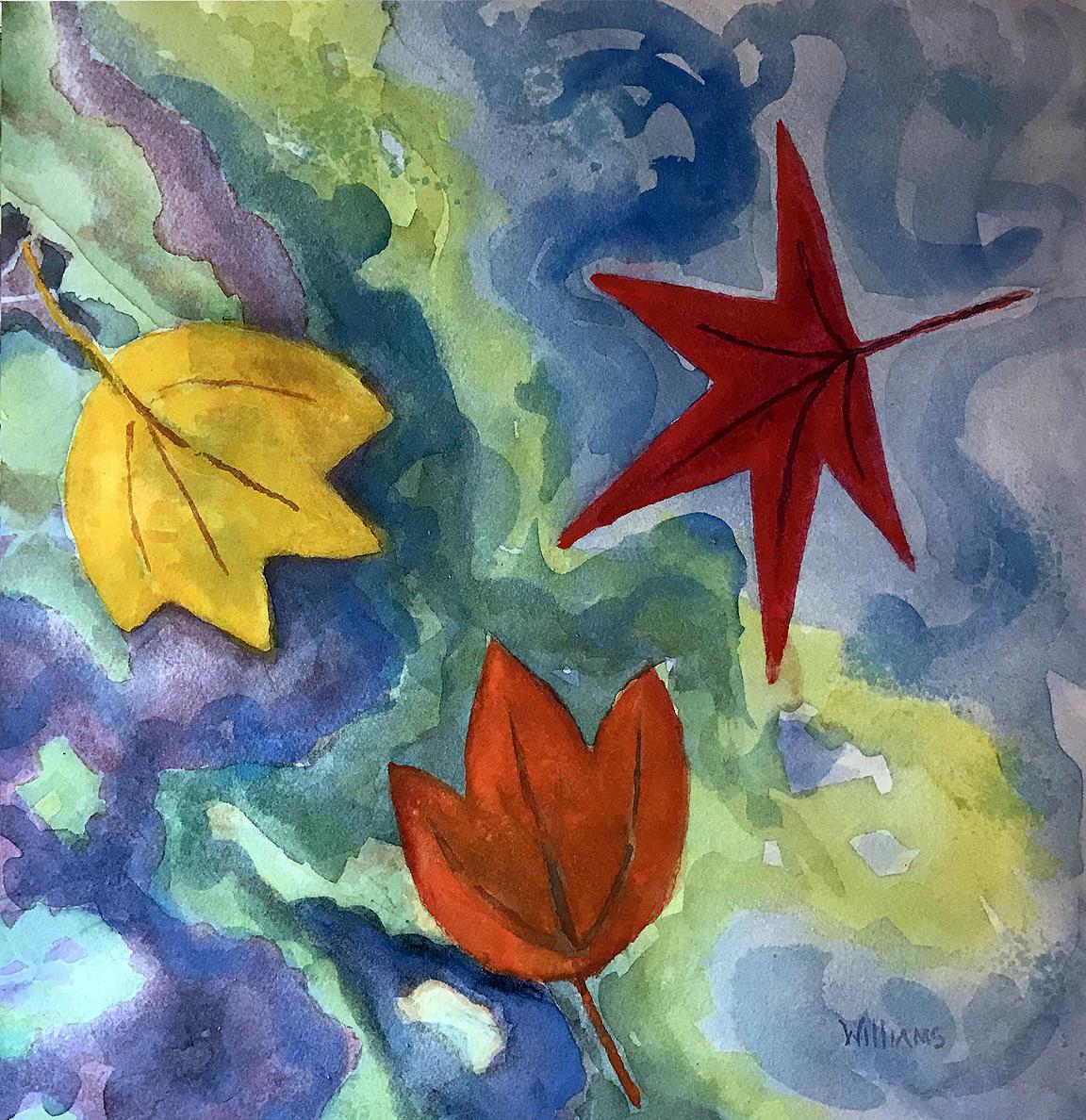 Leaves, Nancy Williams
