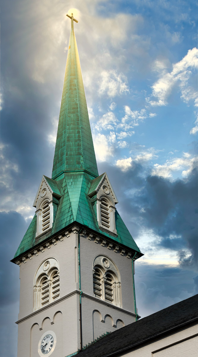 """""""Saint Georges Steeple"""" by Buddy Lauer"""