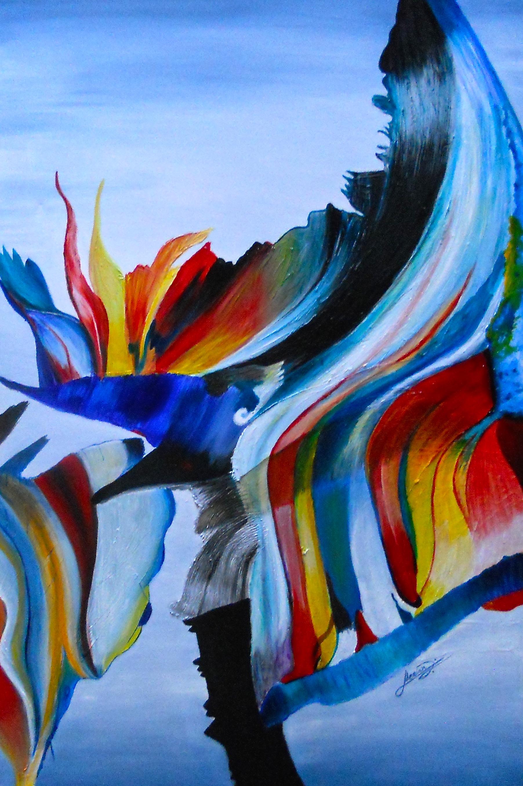Merian Stevens, Rainbow Tsunami