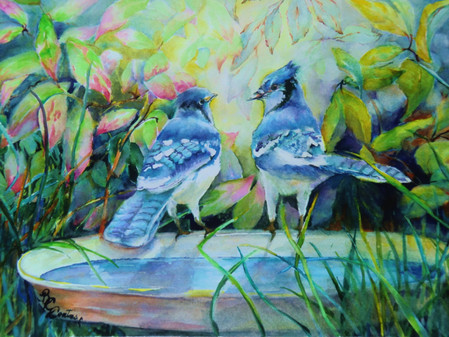 "November's ""Art, Et Cetera"" Features Watercolors by Beverley Coates"