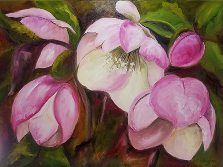 Kathleen Willingham Translates Floral Beauty into Art