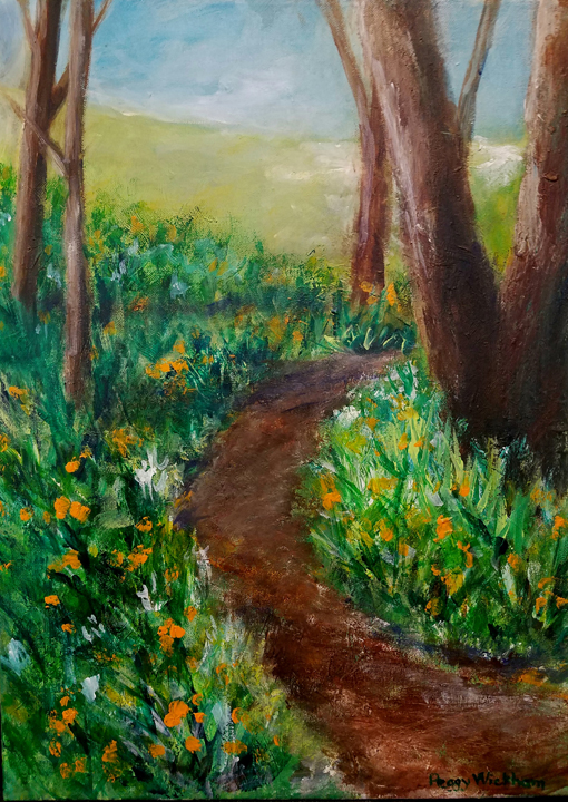Wooded Path, Peggy Wickham