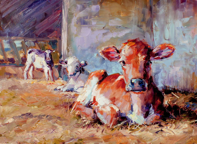 Calf, Beverly Toves