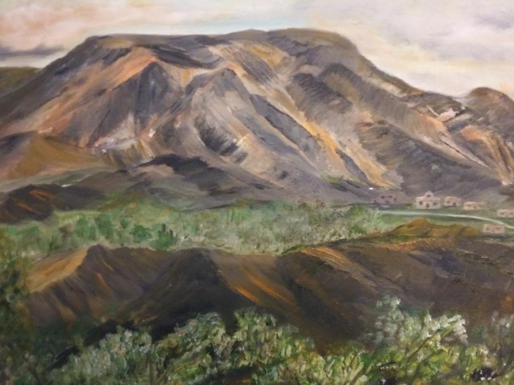 """Adobe Village,"" by Sarah Flinn."