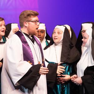 Monsignor & Nuns