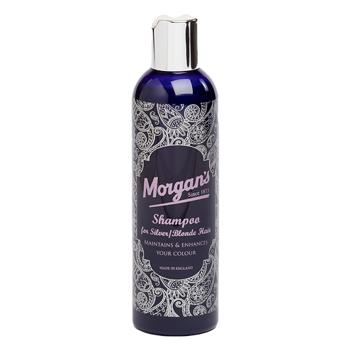 Morgans Shampoo for Grey/Silver Hair 250ml Bottle