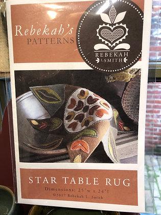 Star Table Rug