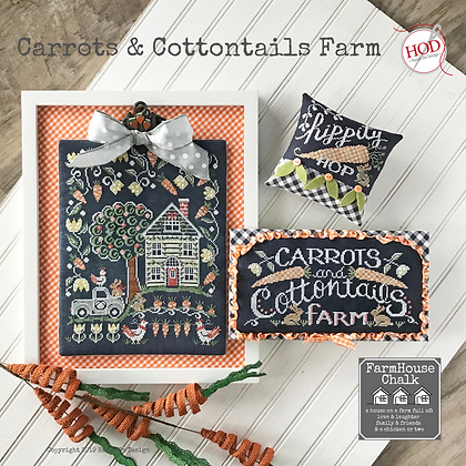 Hands on Designs Carrots and Cottontails