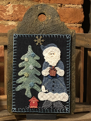 Blue Santa Kit with Pattern (buttons not included)