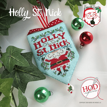 Hands on Designs Holly Old St Nick