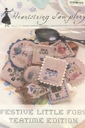 Heartstring Samplery Teatime Edition Fobs