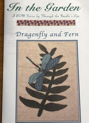BOM Dragonfly and Fern Pattern