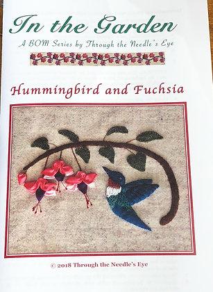 BOM Hummingbird and Fushsia