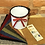 Thumbnail: Enamel Mug with Wool and Needles